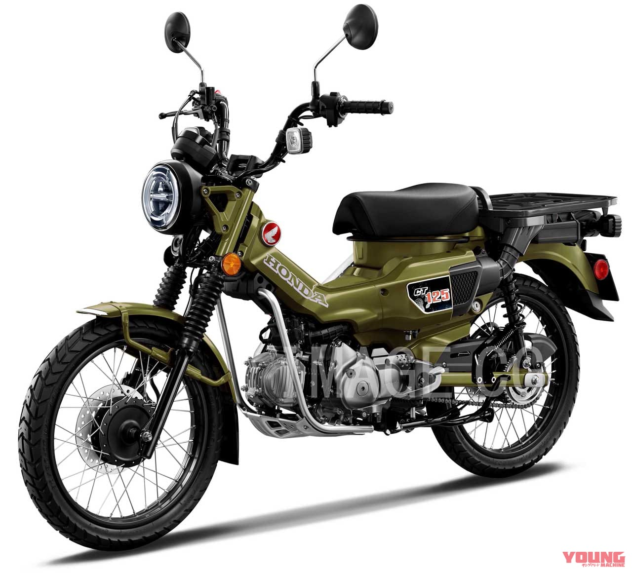 Warna Baru CT125 Cross