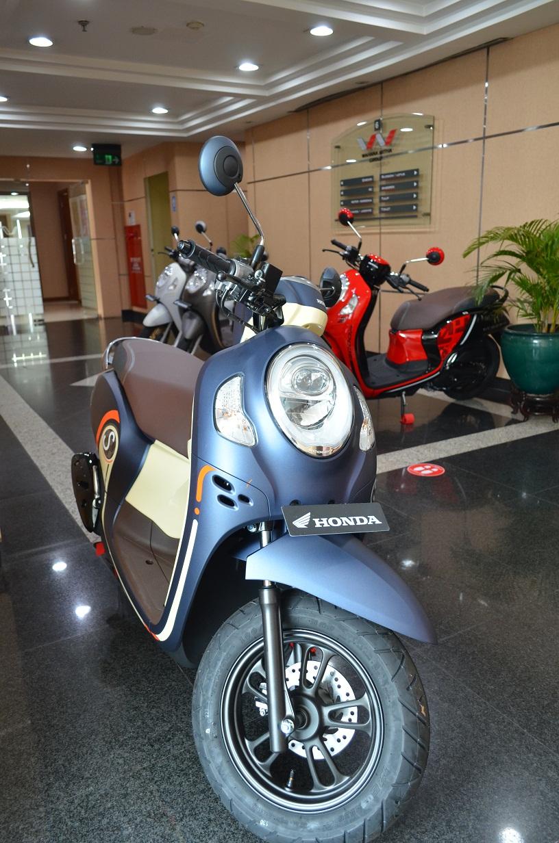 Scoopy Diluncurkan di Jakarta
