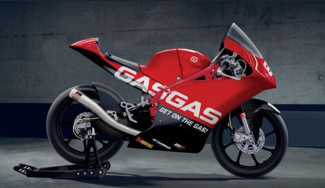 GasGas Ikuti Moto3 2021