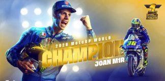 Joan Mir Juara MotoGP 2020