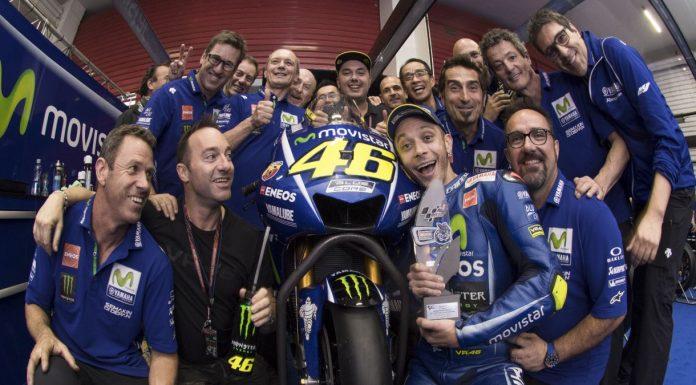 Foto Kenangan Rossi Yamaha