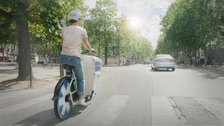 Sepeda Listrik Ambulan