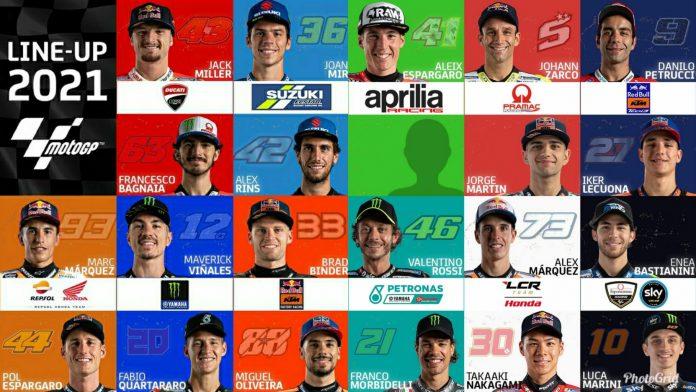 Susunan Pembalap Terbaru MotoGP 2021