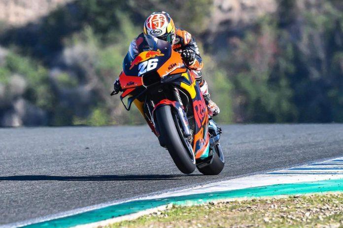 Test Jerez KTM
