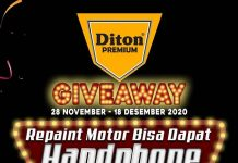 Giveaway Diton Premium