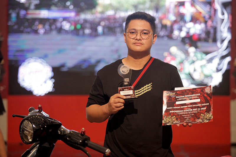 Pemenang Scooter Contest ISF
