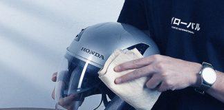 Tips Membersihkan Visor Helm