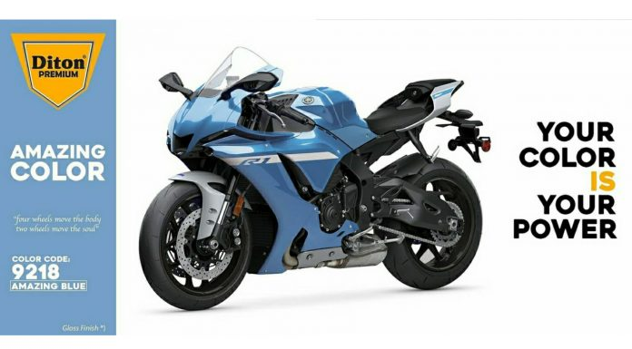 Amazing Blue Diton Premium