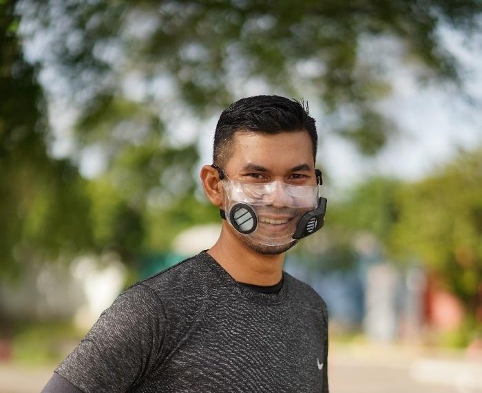 Masker Transparan Grin Smile