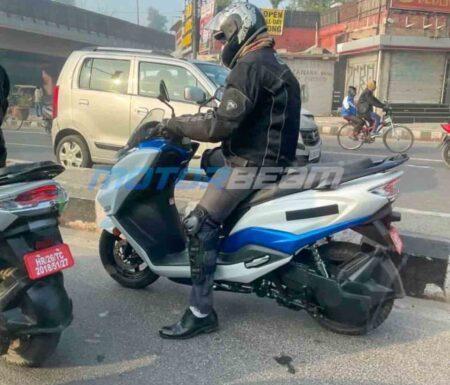Suzuki Burgman Elektrik