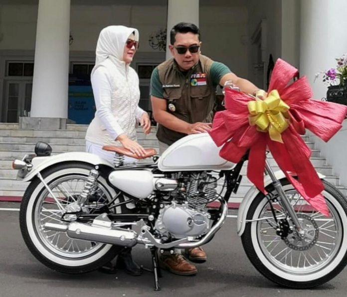 Motor Kustom Ridwan Kamil