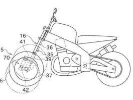 motor roda tiga Kawasaki