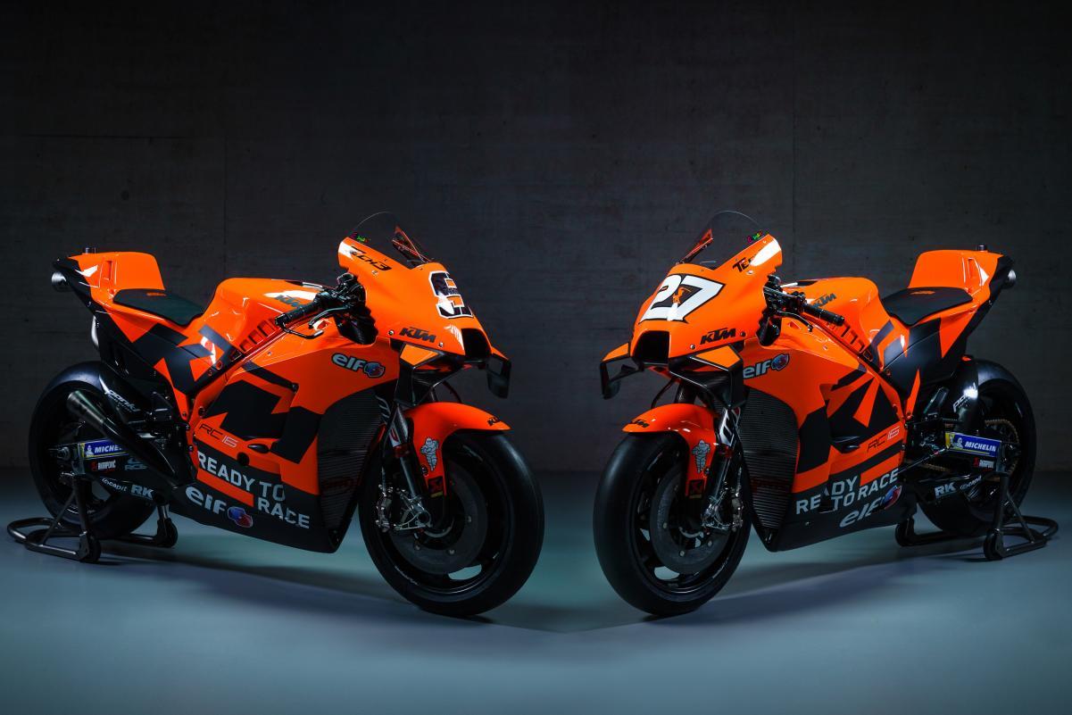 KTM Incar Juara MotoGP