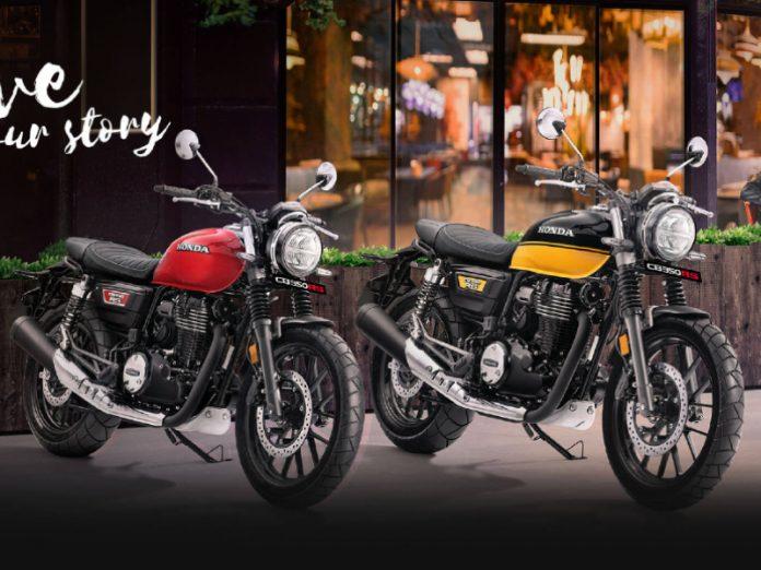 Honda CB350 RS