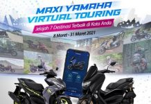 Maxi Yamaha Virtual Touring