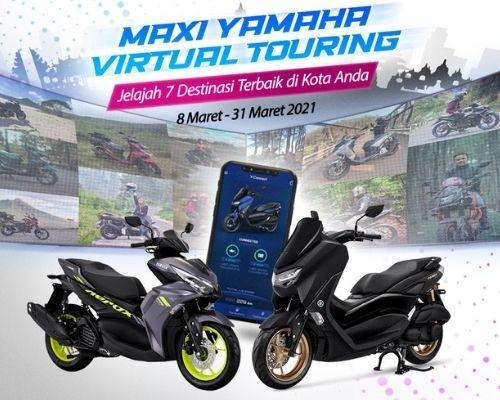 Maxi Yamaha Virtual Touring