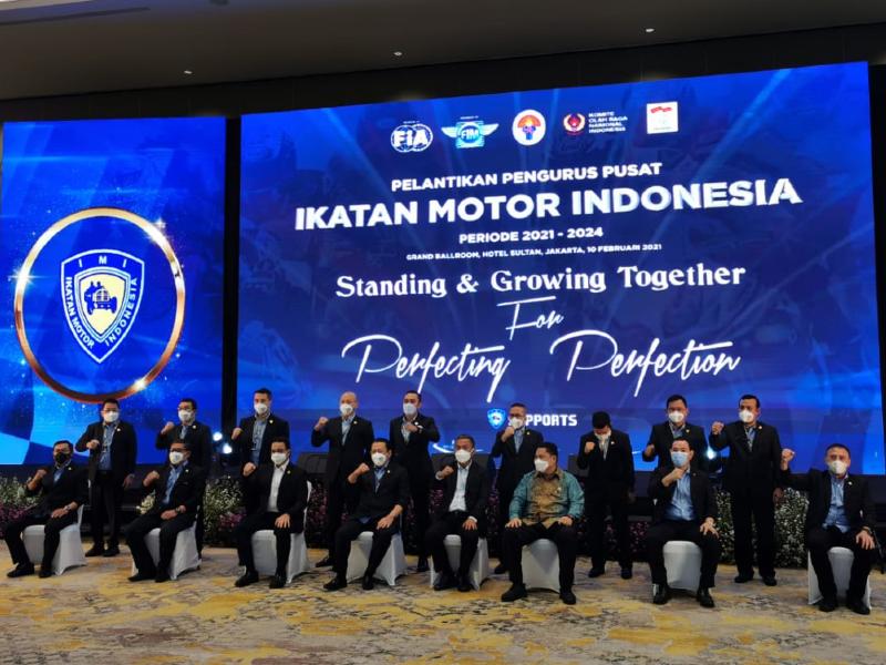 Pengurus IMI 2021-2024