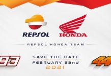 Launching Tim Repsol Honda