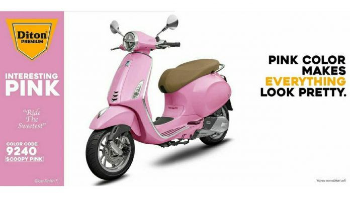 Scoopy Pink 9240 Diton