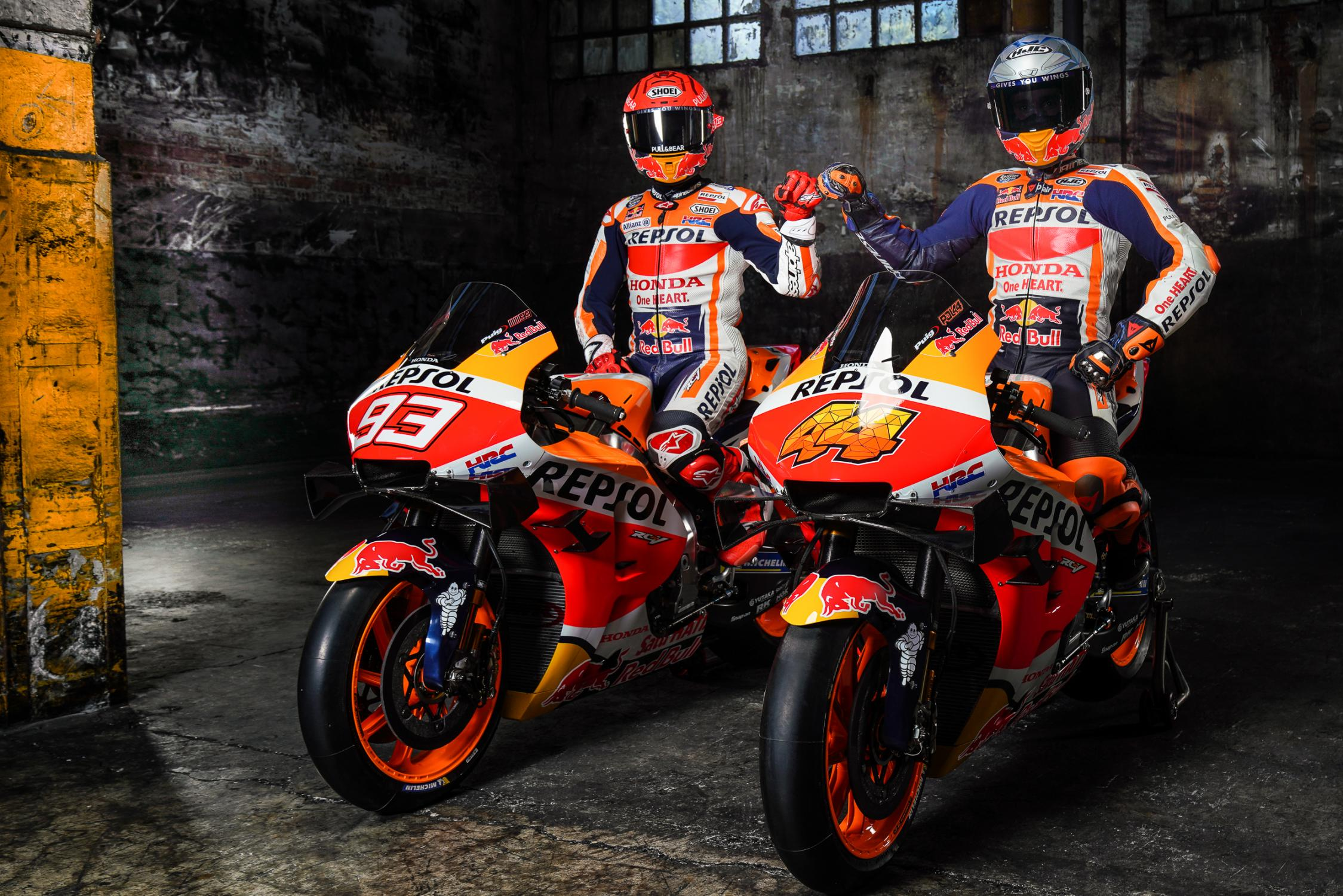 Tim Repsol Honda 2021