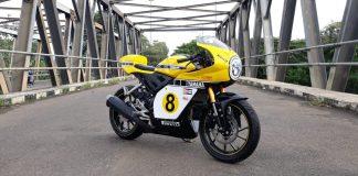 Yamaha R15 Cafe Racer