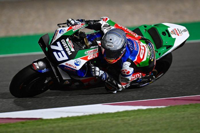 Alex Marquez Crash