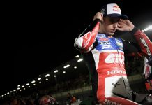 Alex Marquez Crash MotoGP