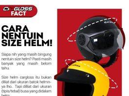 Cara Menentukan Size Helm