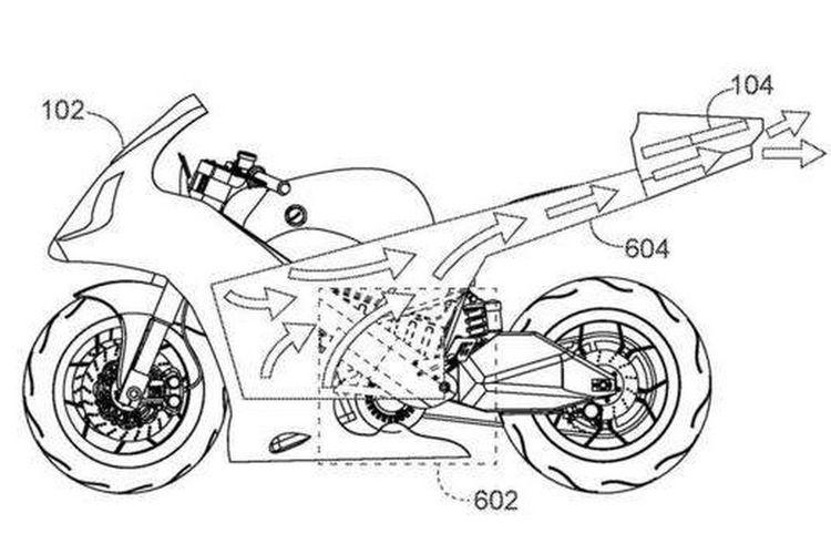 Paten Motor Baru Honda