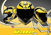 Replika Helm AGV Rossi