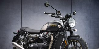 Triumph Street Twin Gold