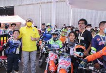 Ajang BOS Junior Motocross