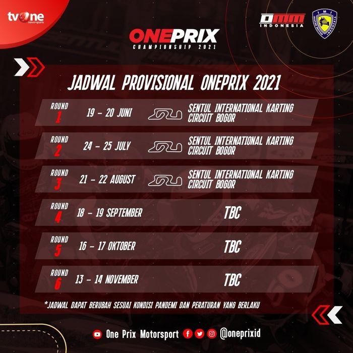 Oneprix Championship 2021