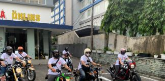Riding Charity Pirelli Indonesia