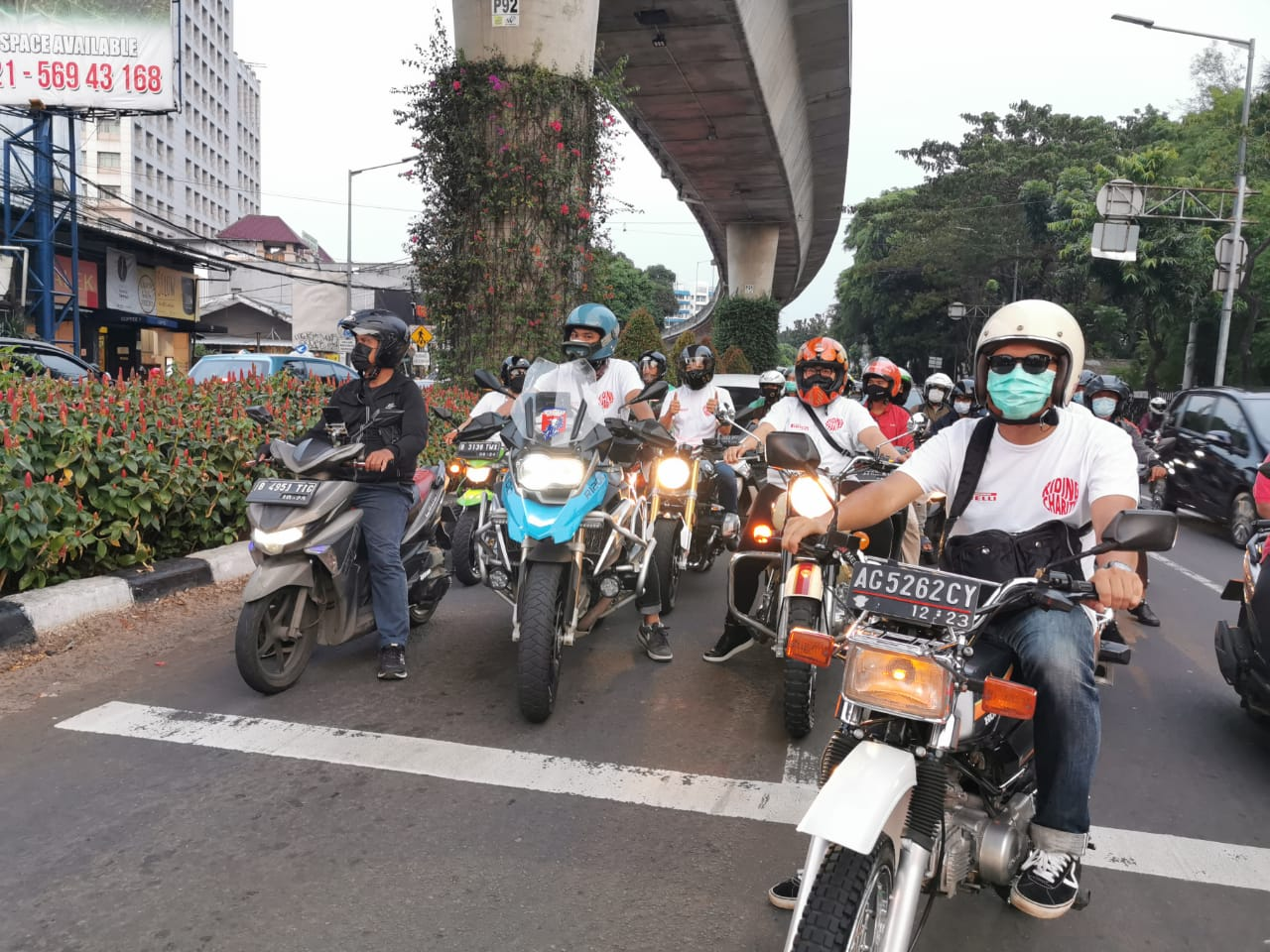 Riding Charity Pirelli Indonesia