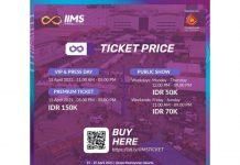 Tiket IIMS Hybrid 2021