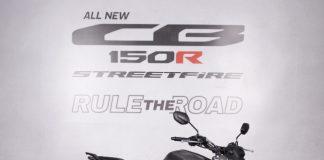 CB150R Streetfire Terbaru