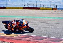 Tes Aragon KTM