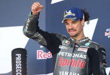 Podium Pertama Petronas Yamaha