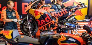Motor MotoGP KTM RC16