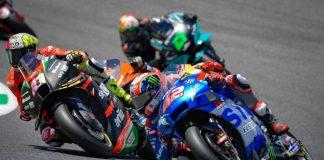 Aprilia dan Suzuki di MotoGP 2022