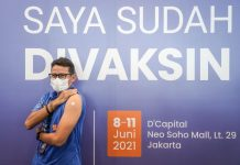 Sandi Ajak Masyarakat Vaksinasi