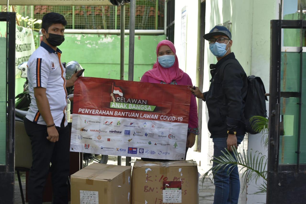 Bantuan Relawan Anak Bangsa