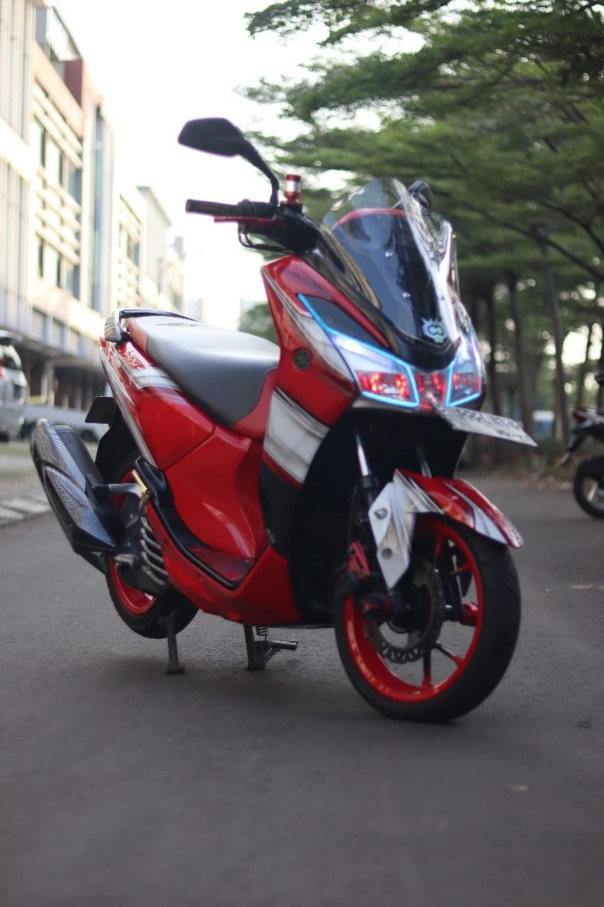 YLCJ Modifikasi Yamaha Lexi