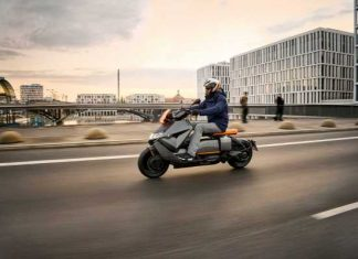 Teknologi BMW Motorrad CE04