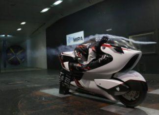 WMC250EV e-Sportbike Paling Aerodinamis